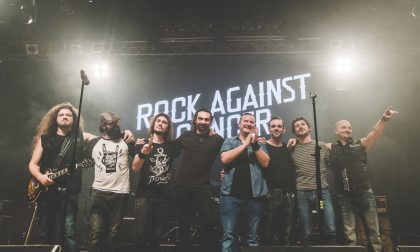 Dal Rock against cancer tremila euro in beneficenza LE FOTO
