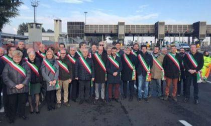 Aumento casello tangenziale Sindaci in protesta