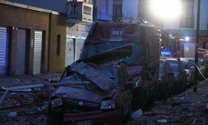 Esplosione Sesto San Giovanni LE IMMAGINI