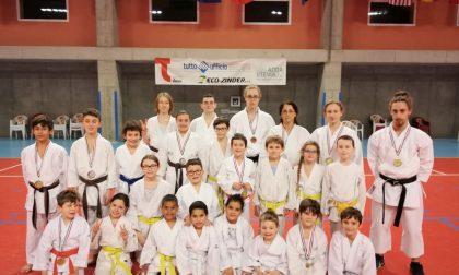 L'Asd karate team Trezzo si esalta in terra orobica