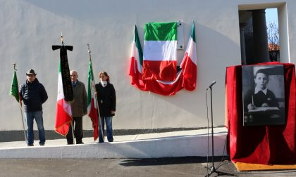 Trezzo ha onorato Leonardo Bassani bimbo ucciso dai nazi-fascisti