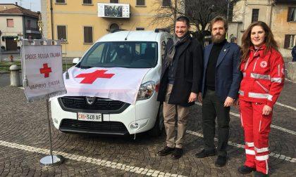 Quattro ruote in più per la Croce rossa di Vaprio