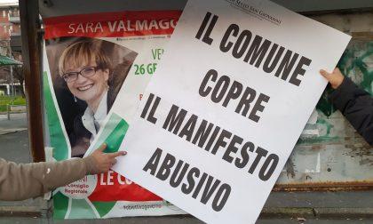 """Elezioni, Forza Italia: """"Il Comune copre i manifesti abusivi del Pd"""""""
