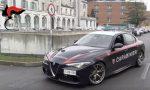 L'Alfa Romeo del Nucleo radiomobile dell'Arma usata per il trasporto organi in ospedale VIDEO