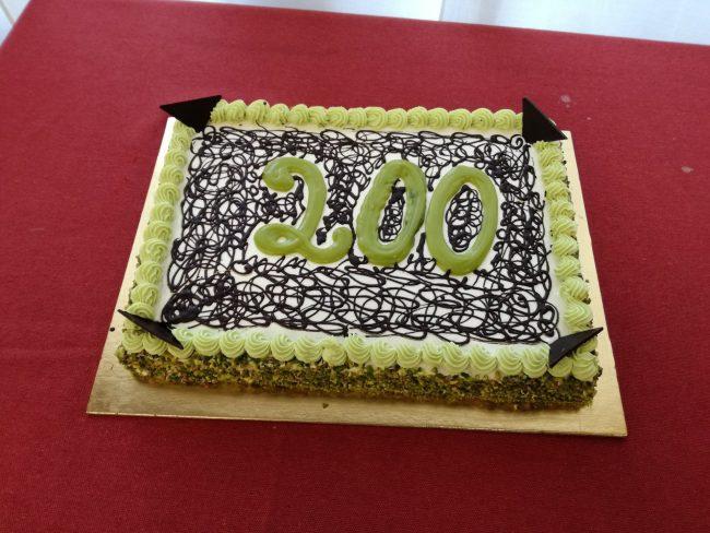 Sesto San Giovanni conferenza stampa 200 mini daspo con torta