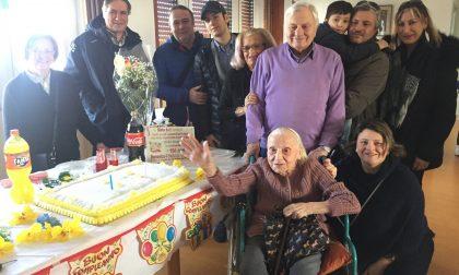 Compleanno da record, Rosa compie 104 anni