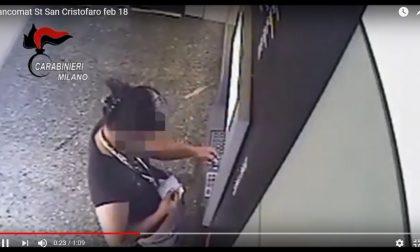 Acquisti con carte rubate Coppia arrestata VIDEO
