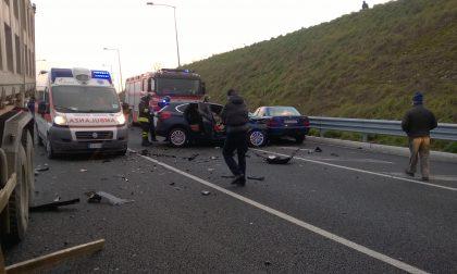 Incidente a Pessano Arriva l'elicottero FOTO