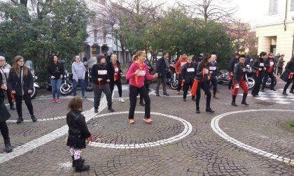 Flash mob tutti in piazza contro la violenza sulle donne VIDEO