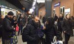 Disagi ferrovia Guasto allo scambio a Pioltello: San Valentino rovinato
