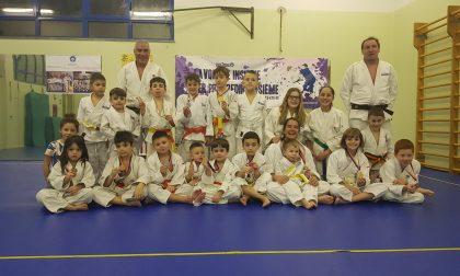 La Scuola judo Trezzo si distingue al provinciale Csi