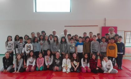 Judo protagonista a scuola a Capriate