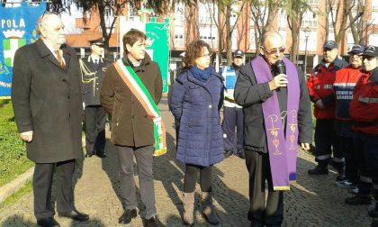 Giornata del ricordo a Cologno inaugurato il Cippo