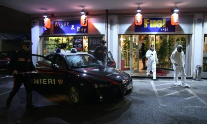 Sparatoria a Segrate dopo una rapina al ristorante FOTO