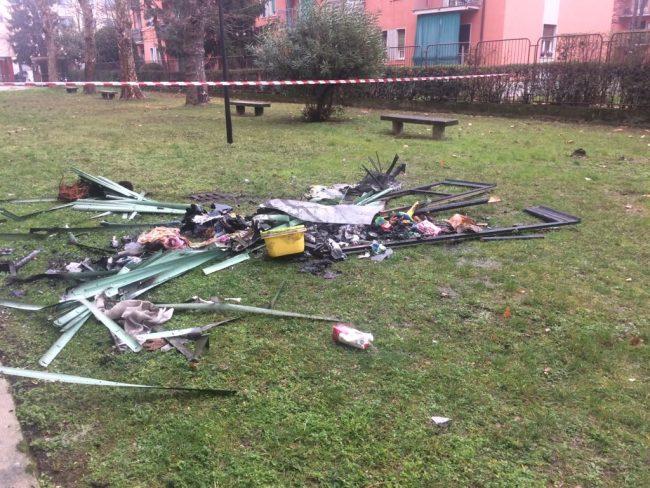 incendio appartamento via Magenta Sesto San Giovanni