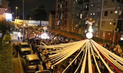 Lu Signuri de li fasci a Pioltello il Venerdì santo è con le vittime dei disastri ferroviari