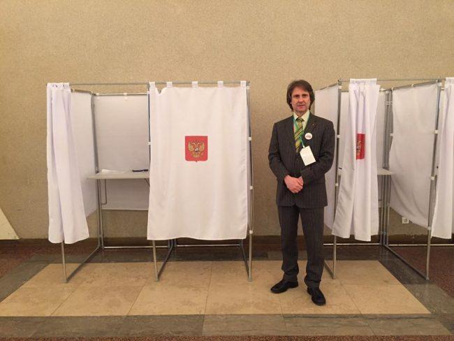 Sesto San Giovanni assessore Claudio D'Amico in Russia per le elezioni presidenziali vinte da Valdimir Putin