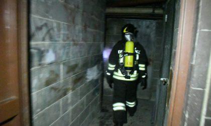 Incendio in un palazzo a Cologno Monzese VIDEO