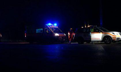 Incidenti a Cernusco e Truccazzano Paura per cinque persone SIRENE DI NOTTE