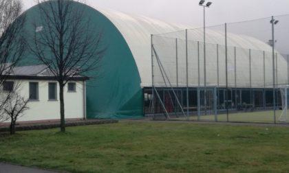 Centro sportivo al freddo a Inzago