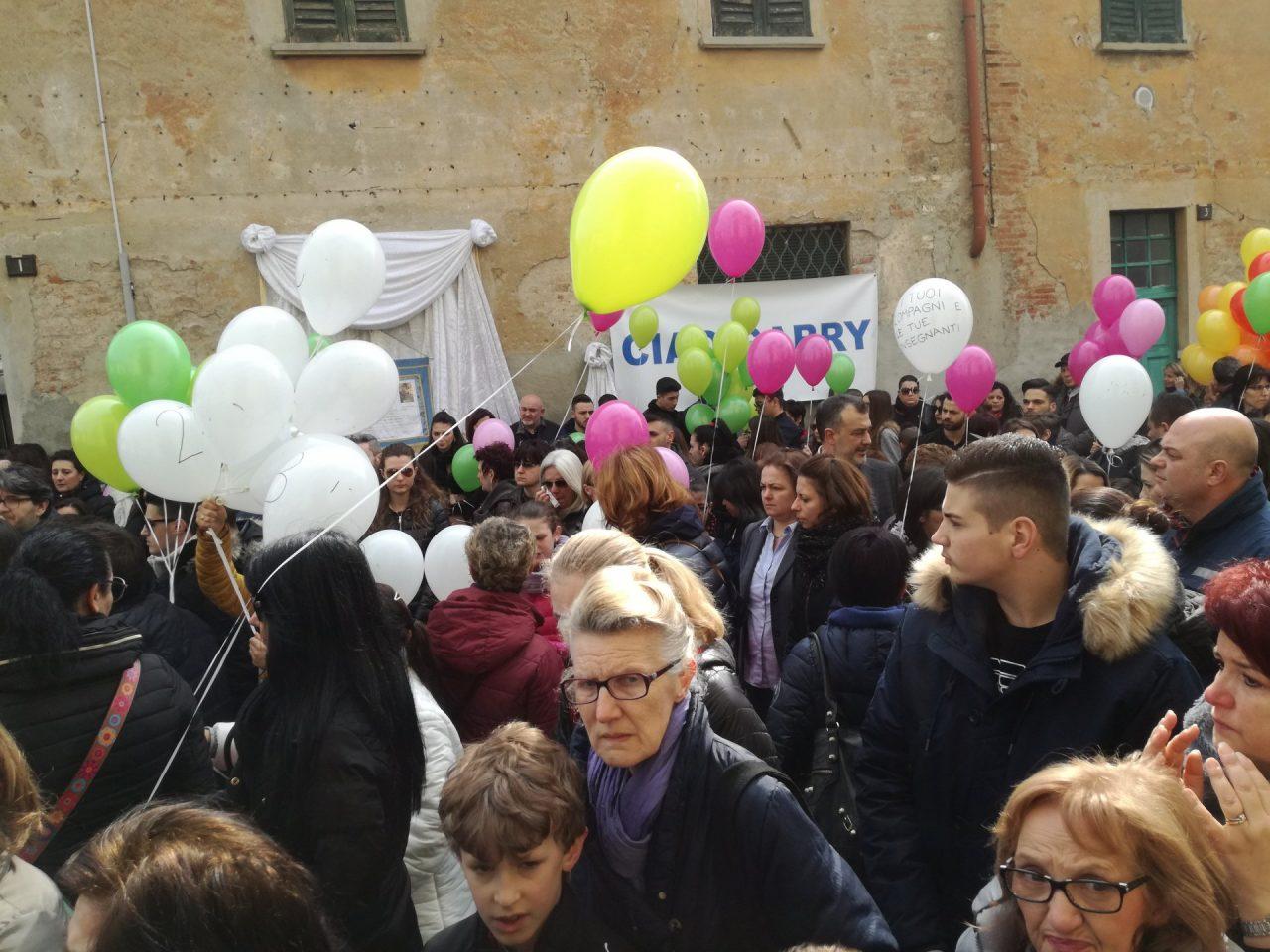 lele Joker funerali di Gabriele Loffredo di 9 anni di Carugate