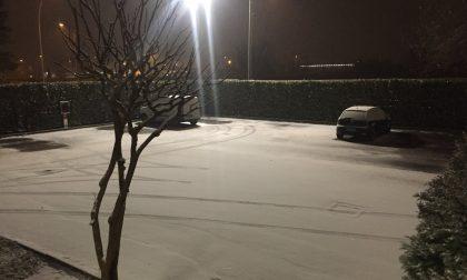 Allerta neve, nella notte arrivati i primi fiocchi
