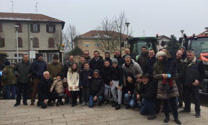 Festa degli agricoltori a Cernusco, benedetti anche i trattori