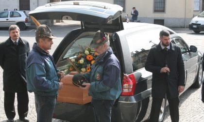 Vaprio si è commossa ai funerali dell'Alpino Bruno Laini