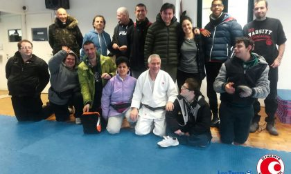 Trezzo le finalità educative del judo insegnate gratis agli utenti delle coop disabili