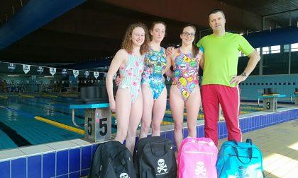 Tre promesse della Team Trezzo sport ai Nazionali giovanili di nuoto