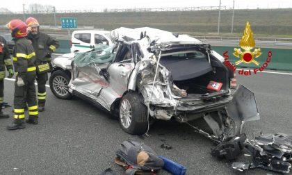 Incidente  A4, morta una donna salvo 17enne al suo fianco (FOTO)