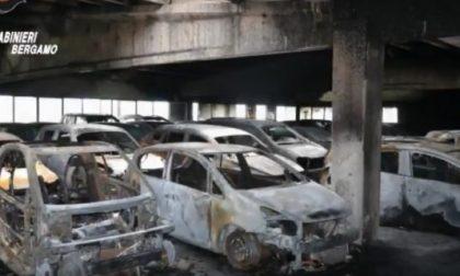 Auto incendiate  a Orio  arrestati i colpevoli VIDEO