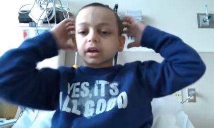 Si è spento a 9 anni Lele Joker vinto da un neuroblastoma