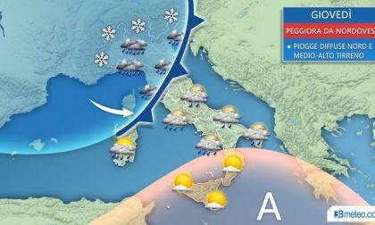 Da domani nuova ondata di maltempo in Martesana