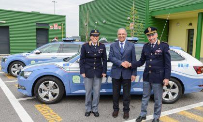 Brebemi dona auto alla Polizia stradale