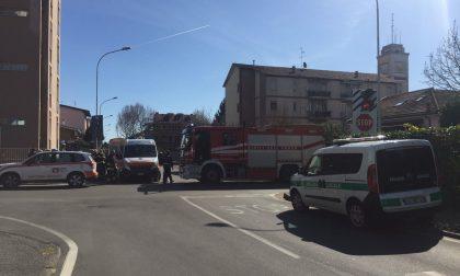 Pedone investito a Cernusco Arrivano i pompieri INTERVENTO IN CORSO FOTO