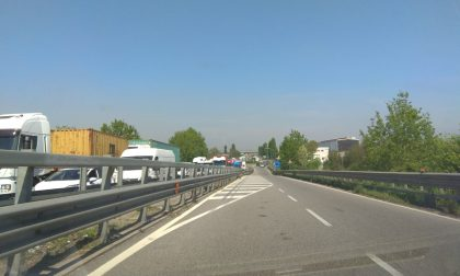 Incidente a Melzo, traffico in tilt