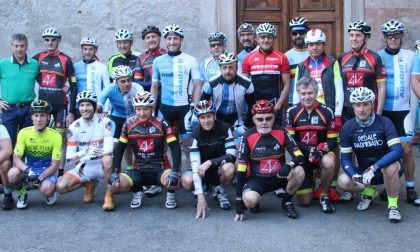 Ciclisti di Melzo dal Santuario delle Stelle a Loreto
