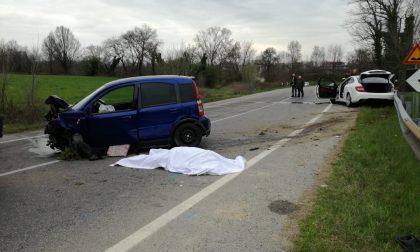 Incidente mortale: perde la vita una 68enne. Traffico rallentato a Gessate FOTO