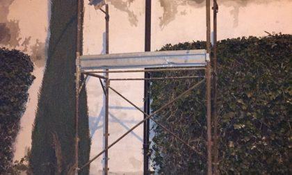 Ponteggio cimitero di Pontirolo, interviene l'ispettorato del lavoro