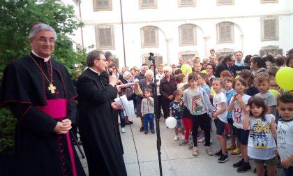 """Palazzo Celesia inaugurato, il vescovo lo ribattezza il """"Palazzo dei ragazzi""""... FOTO"""