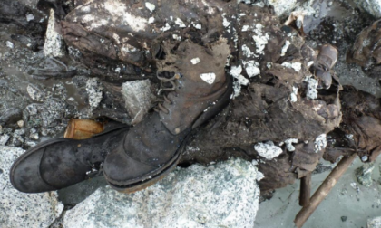 Ha un nome il corpo dell'alpino trovato dopo un secolo sull'Adamello