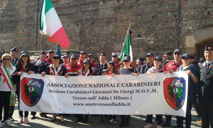 Anc Trezzo in parata a Verona per il raduno nazionale dei carabinieri FOTO