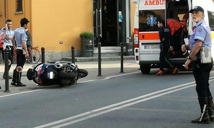 Trezzo manda un motociclista in ospedale, fugge, ma i video lo rintracciano