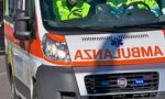 Incidente stradale fra auto e moto in viale Fratelli Casiraghi a Sesto San Giovanni
