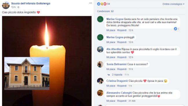 Bimba di 4 anni muore per otite a Brescia, ordinata autopsia