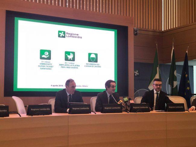 La Giunta Fontana vuole cancellare il ticket sanitario regionale