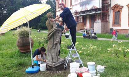 Nuova vita per le statue di Villa Ghirlanda Silva
