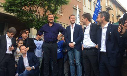 Cinisello: una folla per Salvini
