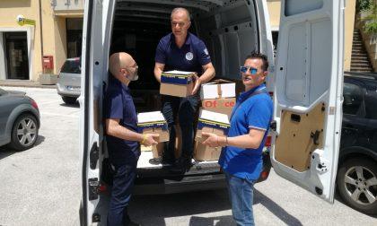 Inaugurazioni e la paura: continua il viaggio di Charity nel Centro Italia VIDEO E FOTO